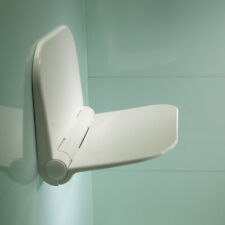 Roper Rhodes Wall Mounted Compact Shower Seat Fold Away Easy Clean - Max 160kg