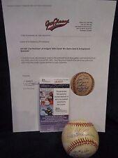 Orel Hershiser 100th Career Win Game Used & Autographed ONL Baseball – JSA Cert