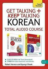 Get Talking And Keep Talking Korean  BOOK NEW