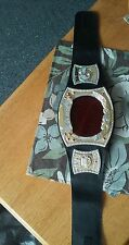 2010 WWE WRESTLING ELECTRONIC CHAMPIONSHIP SPINNER BELT REAL ENTRANCE THEMES