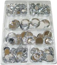 Acryl-Diamanten ca. 220 Stück in 6 Größen Strass-Steine / Schmucksteine, klar