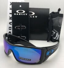 New OAKLEY Sunglasses BATWOLF OO9101-5827 Polished Black+Prizm Sapphire Iridium