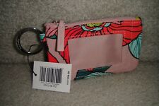 """VERA BRADLEY  ZIP ID CASE in the pretty """"VINTAGE FLORAL""""  NEW WITH TAGS! $14"""