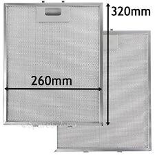 2 x Metal Mesh filter For TEKA Cooker Hood Vent Filters 320 x 260 mm