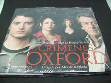 CD - LOS CRIMENES DE OXFORD - ROQUE BAÑOS - MELIAM - 2008 - SPAIN