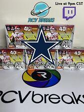 Dallas Cowboys Break #2 2020 Panini Mosaic Football Mega Box x5