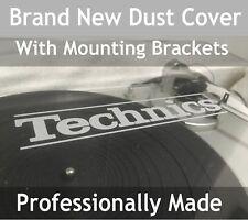 Tocadiscos Technics personalizado hecho cubierta de polvo tapa con láser grabado con el logotipo de marca nueva