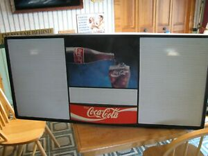 Coca Cola 4ft Menu Board