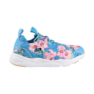 Reebok Furylite FG Floral Women's Shoes Flight Blue-Berry-Pink BD1097