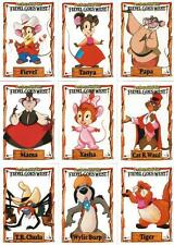 An American Tail ~ Fievel Goes West ~ Full 150 Card Base Set of Trading Cards