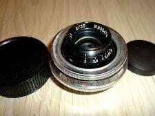 KMZ HELIOS 2/35 F=35mm 1:2 HIGH RESOLUTION LENS RF M39 LEICA micro 4/3 Sony NEX