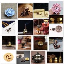 Muti Type 1/3/7/9 Holes Alloy Copper Ceramic Incense Burner Cone Holder Plate