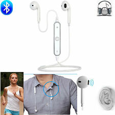 Bluetooth Headphone Sport Stereo Headset Earphone For Samsung Galxy S7 S6 iPhone