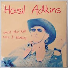 Sealed Hasil Adkins 1997 What The Hell Was I Thinking Lp Fat Possum 80314-1 Mint