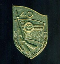 Staatssicherheit Stasi Abzeichen 40 Jahre MfS  F