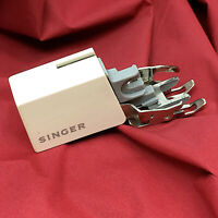 Vintage 1960 SINGER SIMANCO 421333-451 Slant Shank Walking Foot Sewing Machine