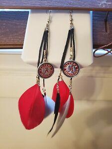 Alabama Crimson Tide Earrings
