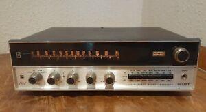 Scott Stereomaster 342c vintage tuner Works clean