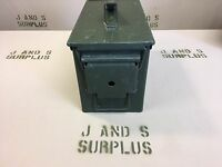 Ammo Can US Army Military M2A1 50 Cal Ammunition Metal Storage 5.56MM