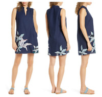 Tory Burch Sleeveless Cover-Up Dress Navy Size Large $298 - NWT