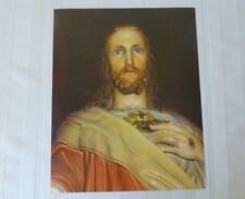 Sacred Heart of Jesus Print 8 x 10 Inches Unframed Collectible