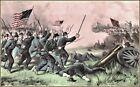 Currier & Ives | The Battle of Jonesboro Georgia  Art Print