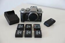 Fujifilm Fuji X-T3 26.1MP Mirrorless Digital Camera Body with 5 extra batteries