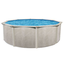 "Cornelius Pools Phoenix 15' x 52"" Round Steel Frame Above Ground Swimming Pool"