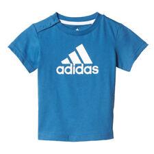 Camisas y camisetas azul de 100% algodón para niños de 0 a 24 meses