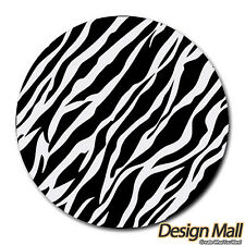 New Animal ZEBRA Print Pattern Round Mouse Pad Mousepad