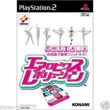 PS2 DANCE DANCE REVOLUTION -AEROBICS- Japan KONAMI DDR