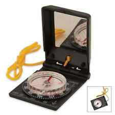 COMPACT TRAILBLAZER SURVIVAL COMPASS WITH LANYARD MIRROR TURN TABLE ORIENTEERING
