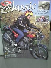 MOTO REVUE CLASSIC: TRIUMPH X75/ GUZZI/ HONDA 125 1960/ DOUGLAS/ J.FINDLAY/ TZ