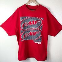 FMF Flying Machine Factory Men's Big XXL Red White Black Motorcross Racing Shirt