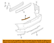 Lincoln FORD OEM 03-04 LS Rear Bumper-Cover Molding Left 3W4Z17C830AB