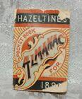 Antique Hazeltines Pocket Book Almanac 1893 Printed for J H Barnes Liberty MO