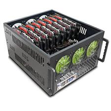 Hydra II 8 GPU 6U Server Mining Rig Case Dual PSU Ready Custom Made High Density