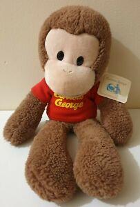 Curious George Monkey Plush Gund Soft Toy 33 cm Flawed