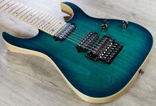 Ibanez RG752AHMNGB RG Prestige 7-String DiMarzio Guitar Nebula Green Burst