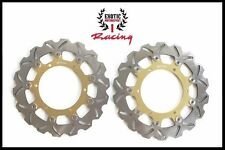 Front Brake Disc Rotors Set For Yamaha R1 R6 V Star 1100 V Max 1200  Wave Rotors
