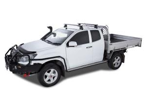 Rhino Rack Vortex 2500 Black ISUZU D-Max TF 2dr Ute Space Cab 06/12 On (JA2225)