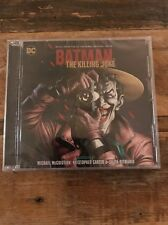Batman The Killing Joke Soundtrack CD Michael Mccuistion DC Comics The Joker