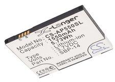 Batterie 1550mAh Pour ASUS P550, Solaris, VODAFONE 1520 type SBP-14
