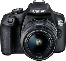 Canon EOS 2000D BK 18-55 IS II EU26 Kit fotocamere SLR 24,1 MP CMOS 6000