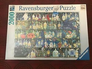 Ravensburger Poisons and Potions 2000 piece puzzle ~ New and Sealed!