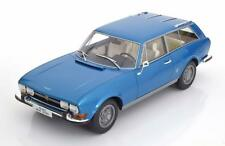 PEUGEOT 504 BREAK RIVIERA 1971 METAL BLUE BOS BOS058 1/18 BLAU BLEU RESINE
