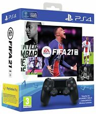 Sony PS4 Dualshock 4 Controller and FIFA 21 PS4 Game Bundle