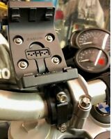 Supporto manubrio 28mm moto bicicletta Garmin Montana 600 610 650 680 Monterra