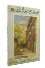 In London's By-Ways by Jerrold, Walter; E.W.Haslehust [Illustrator]