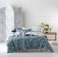 NEW Linen House Thelma King Quilt Cover Set 100% Cotton